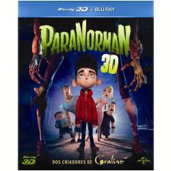 Blu - Ray - ParaNorman - 3D+2D - Casey Affleck - 7899587907108