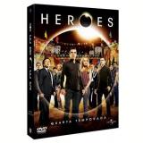 Heroes - 4ª Temporada  (DVD) -