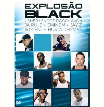 Explosão Black  (DVD)