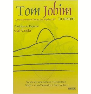 Tom Jobim - Ao Vivo no Wiltern Theatre, Los Angeles, 1987 (DVD)
