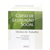 Curso De Legislação Social - Domingos Sávio Zainaghi