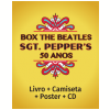 Box The Beatles Sgt. Peppers 50 anos Edi��o Deluxe