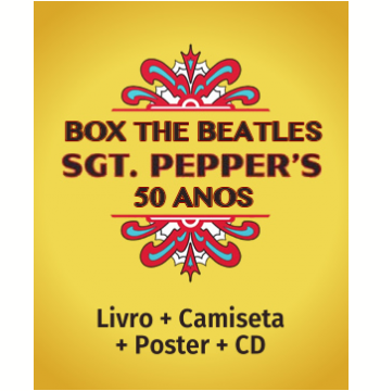 Box The Beatles Sgt. Peppers 50 anos Edição Deluxe