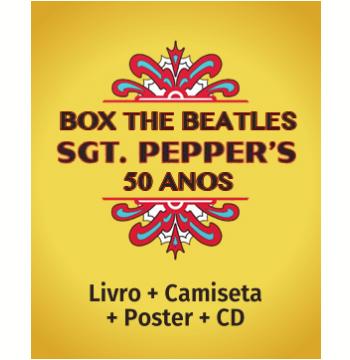 Box The Beatles Sgt. Peppers 50 anos Edição Deluxe