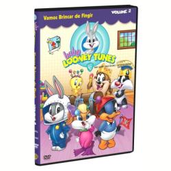 DVD - Baby Looney Tunes - Vamos Brincar de Fingir Vol. 2 - Vários ( Diretor ) - 7892110047746