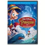Pinóquio - Edição Platinum 70º Aniversário (DVD) - Hamilton Luske (Diretor), Ben Sharpsteen (Diretor)