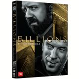 Billions - 1ª Temporada - 4 Discos (DVD) - Damian Lewis, Paul Giamatti, Malin Akerman