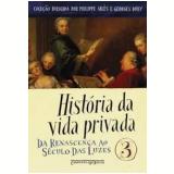 História da Vida Privada (Vol. 3, Edição de Bolso) - Roger Chartier (Org.)