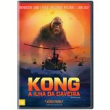 Kong - A Ilha da Caveira (DVD) - Samuel L. Jackson, Tom Hiddleston, Brie Larson