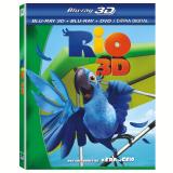 Rio - Mega Combo BD 3D + BD + DVD (Blu-Ray) - Carlos Saldanha (Diretor)