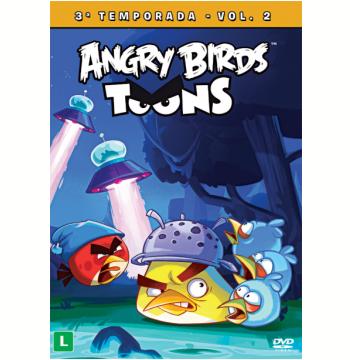 Angry Birds Toons - 3ª Temporada Volume 2 (DVD)