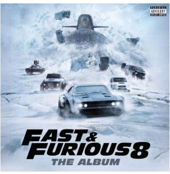 Velozes e Furiosos 8 - O. S. T - Fast & Furious 8 - Trilha Sonora do Filme  (CD)