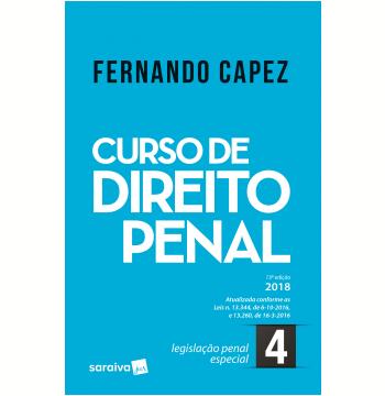 Curso de Direito Penal - Legislação Penal Especial (Vol. 4)