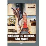 Quando os Homens São Maus (DVD) - Charles Bronson, Lee Marvin
