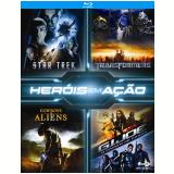 Box Heróis em Ação (Blu-Ray) - Vários