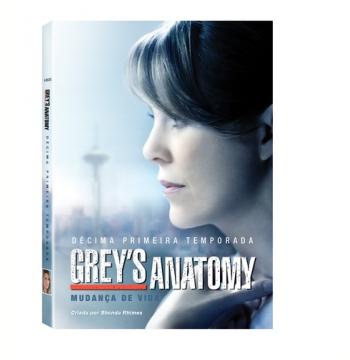 Grey's Anatomy - Decima Primeira Temporada (DVD)