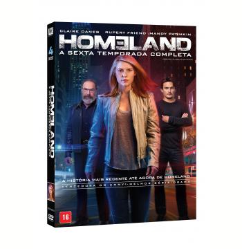 Homeland - 6ª Temporada Completa (DVD)