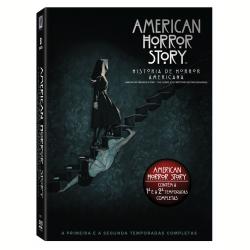 DVD - A História De Horror Americana - 1ª e 2ª Temporadas Completas - Evan Peters - 7898512982746
