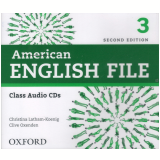 American English File 3 Class (5 Cds) - Second Edition -