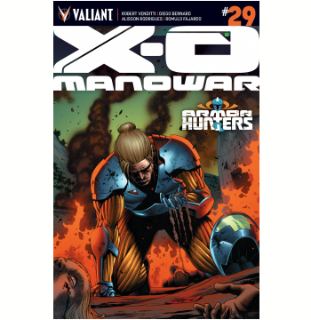 X-O Manowar Issue 29 (Ebook)