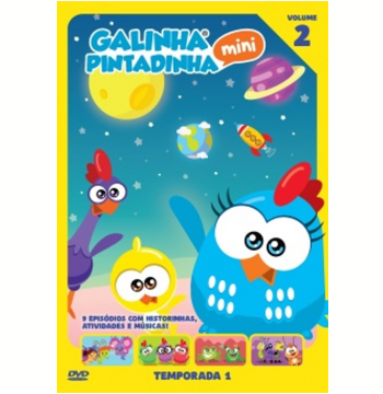 Galinha Pintadinha Mini - 1ª Temporada (Vol. 2) (DVD)
