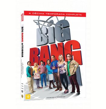 The Big Bang Theory - A Teoria - 10ª Temporada (DVD)