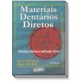 Materiais Dent�rios Diretos 8� Edi��o - Angus W. G. Walls, John F. Mccabe