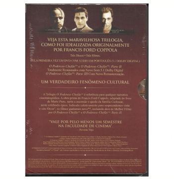 O Poderoso Chefão - The Coppola Restoration - Trilogia (DVD)
