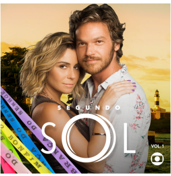 Segundo Sol - Trilha Sonora da Novela - Vol. 1 (CD)
