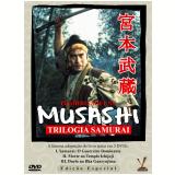 Musashi - Trilogia Samurai (DVD) - Eiji Yoshikawa