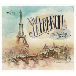 CDs - Vive La France - Box Com 6 Cds - Digipack - Varios Interpretes - 7798093710946