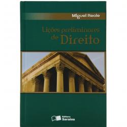 Livros - Lições Preliminares De Direito - Miguel Reale - 9788502041264