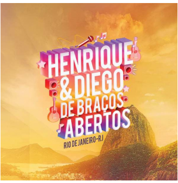 Henrique E Diego - De Braços Abertos Ao Vivo (CD)