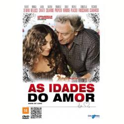 DVD - As Idades do Amor - Monica Bellucci - 7898920256279
