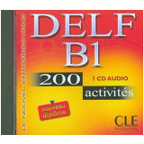 Delf B1 - 200 Activites - Cd Audio - Nathan