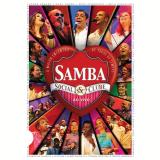 Samba Social Clube Ao Vivo - Volume 1 (DVD) - Vários (veja lista completa)