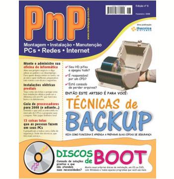 PnP Digital nº 6 - Técnicas de Backup, Discos de Boot (Ebook)