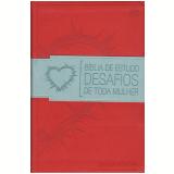 Biblia De Estudo Desafios De Toda Mulher - Associacao Rel.editora Mundo Cristao