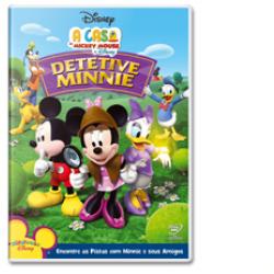 DVD - A Casa do Mickey Mouse - Detetive Minnie - Sherie Pollack ( Diretor ) , Rob LaDuca ( Diretor ) , Victor Cook ( Diretor ) - 7899307912900