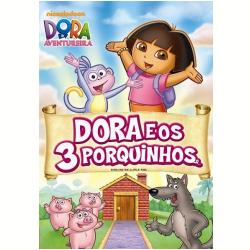 DVD - Dora, A Aventureira em - Dora e os Três Porquinhos - Henry Madden ( Diretor ) , Gary Conrad ( Diretor ) , Katie McWane ( Diretor ) - 7890552103532