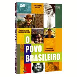 DVD - O Povo Brasileiro - Vários ( veja lista completa ) - 7895233128705