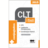 C�digo 4 Em 1 Saraiva CLT - 2015 -