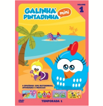 Galinha Pintadinha Mini - 1ª Temporada (Vol. 01) (DVD)