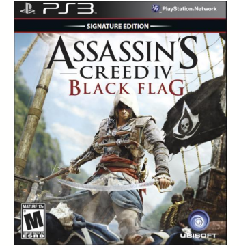 Assassin's Creed IV: Black Flag Signature Edition (PS3)