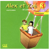 Alex Et Zoe 3 - Cd Audio Individuel - Colette Samson