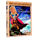 Os Dez Mandamentos (DVD) - Charlton Heston