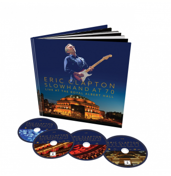 Kit - Premium Eric Clapton  – Slowhand At 70 – Live At The Royal Albert Hall (DVD)