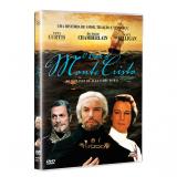 O Conde de Monte Cristo (DVD) - Richard Chamberlain, Louis Jourdan, Tony Curtis