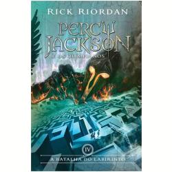 Livros - A Batalha Do Labirinto - Capa Nova - Rick Riordan - 9788580575422