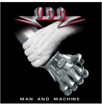 U.D.O - Man And Machine (CD)